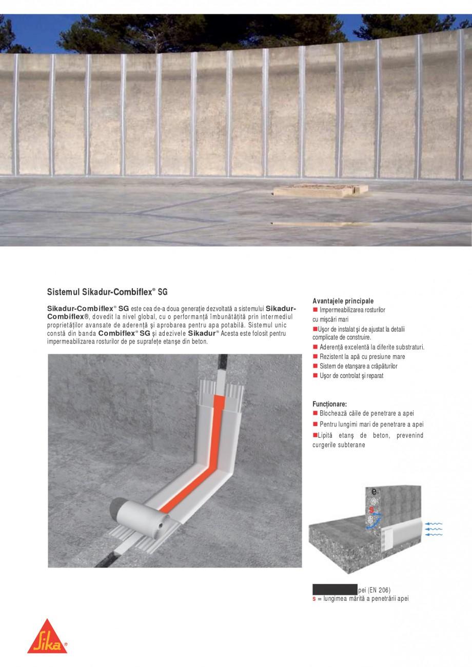 Pagina 2 - Sistem pentru etansarea rosturilor si a fisurilor - Sikadur-Combiflex SIKA Sikadur®...