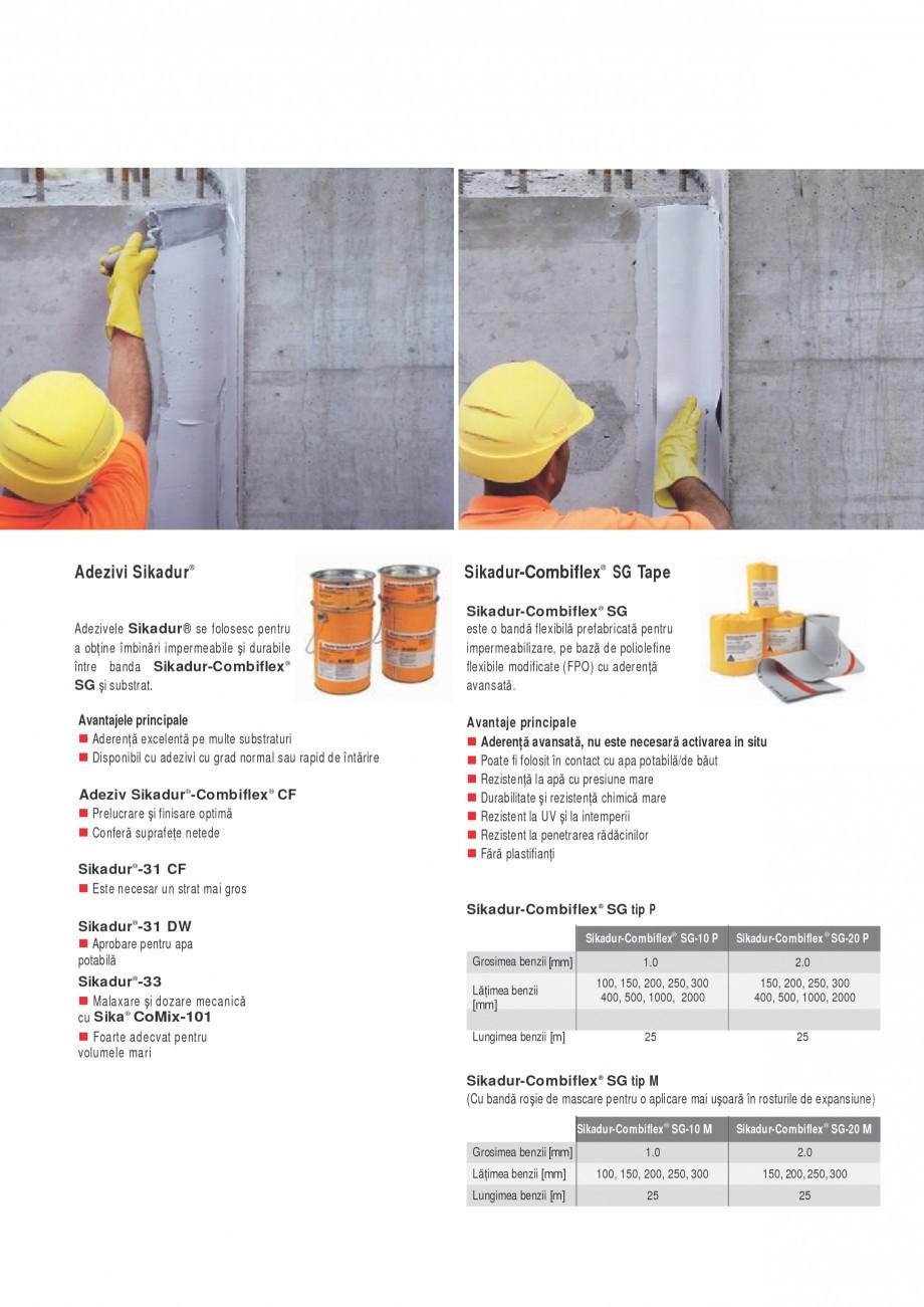Pagina 5 - Sistem pentru etansarea rosturilor si a fisurilor - Sikadur-Combiflex SIKA Sikadur®...