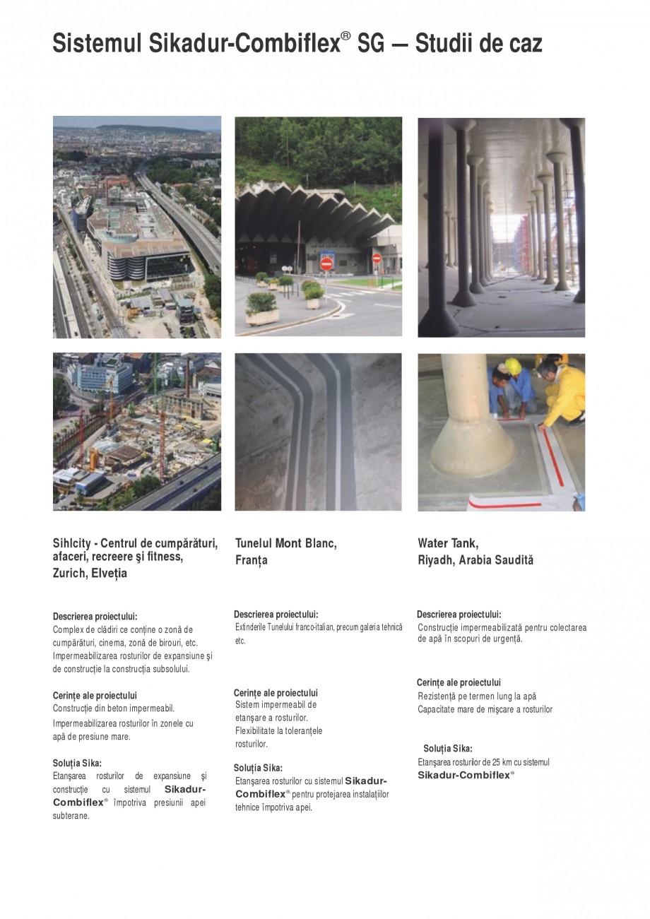 Pagina 7 - Sistem pentru etansarea rosturilor si a fisurilor - Sikadur-Combiflex SIKA Sikadur®...