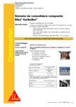 Sisteme de consolidare compozite SIKA - Sika® CarboDur®, Sika® CarboShear®