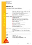 Adeziv pentru lamele din fibre de carbon SIKA - Sikadur®-30