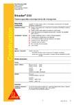 Rasina epoxidica bicomponenta de impregnare SIKA - Sikadur®-330