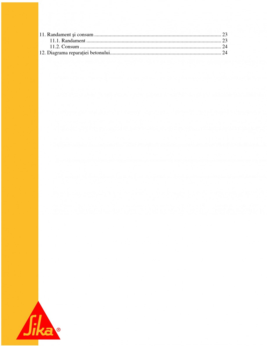 Pagina 3 - Repararea structurilor de beton prin turnari cu mortar - SikaGrout/ MonoTop SIKA...