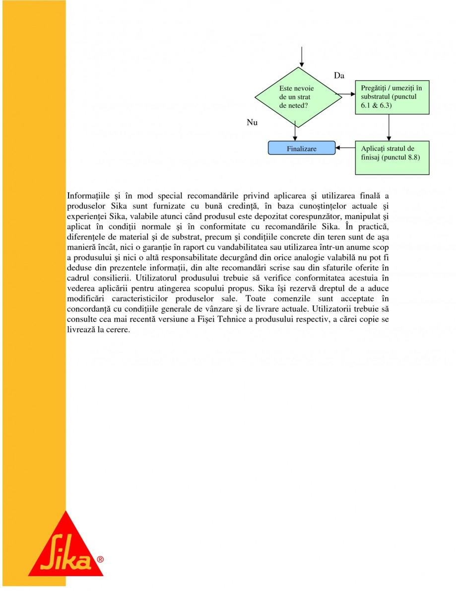 Pagina 26 - Repararea structurilor de beton prin turnari cu mortar - SikaGrout/ MonoTop SIKA...
