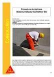 Sistem de etansare a rosturilor si reparare a fisurilor - Sikadur-Combiflex SG SIKA