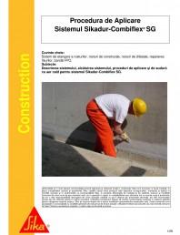 Sistem de etansare a rosturilor si reparare a fisurilor - Sikadur-Combiflex SG