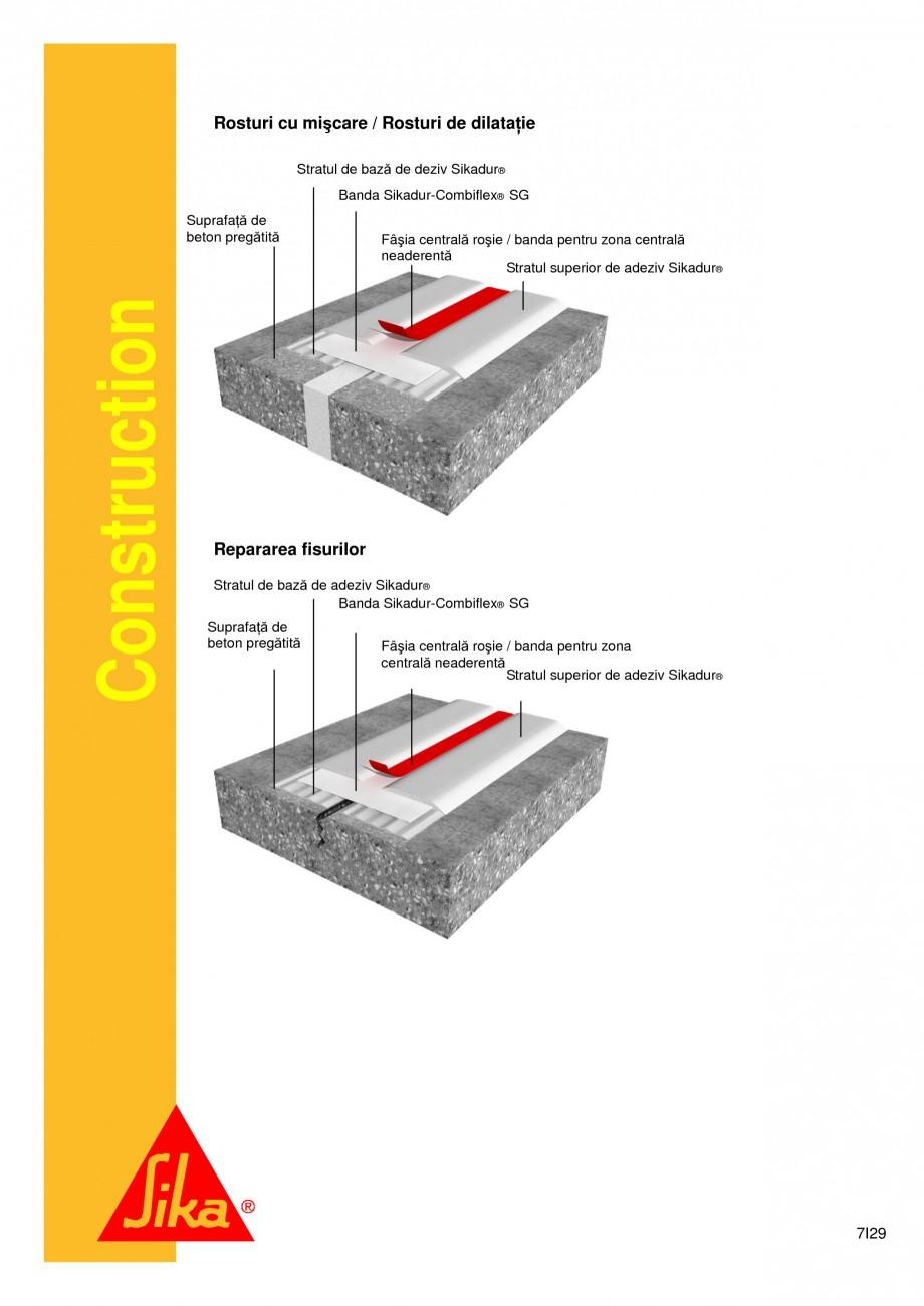 Pagina 7 - Sistem de etansare a rosturilor si reparare a fisurilor - Sikadur-Combiflex SG SIKA...