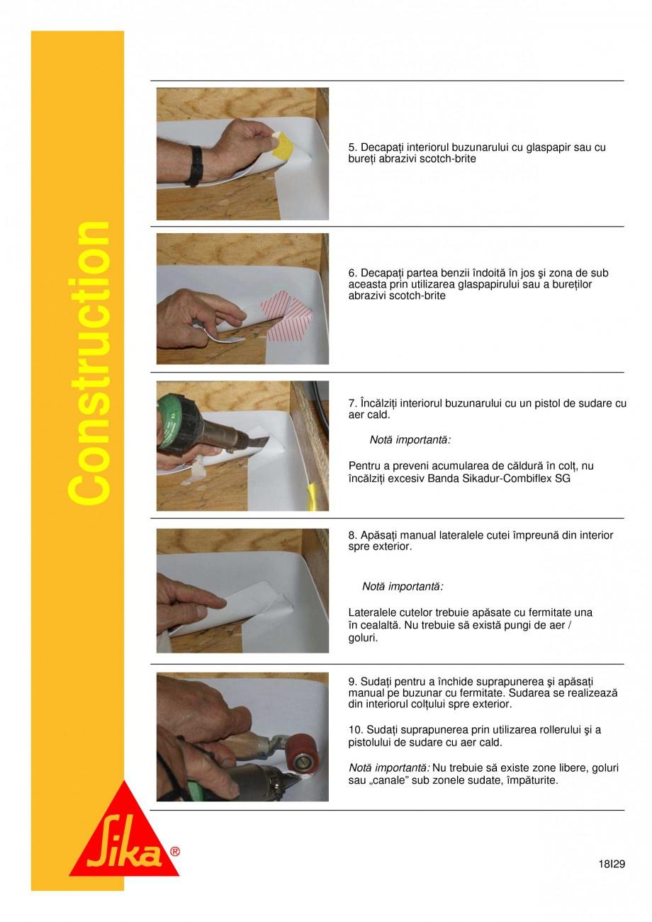 Pagina 18 - Sistem de etansare a rosturilor si reparare a fisurilor - Sikadur-Combiflex SG SIKA...