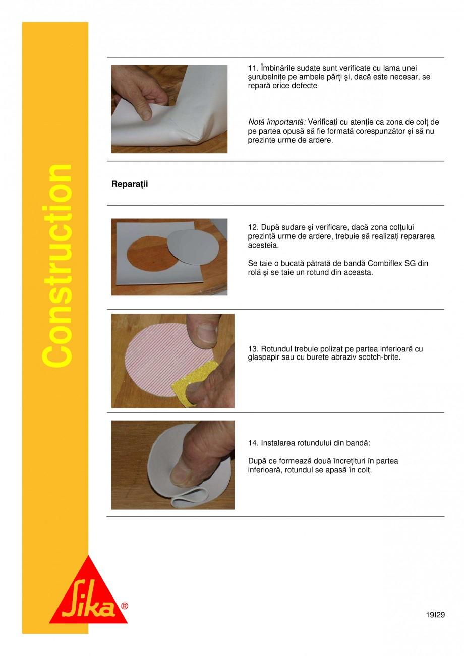 Pagina 19 - Sistem de etansare a rosturilor si reparare a fisurilor - Sikadur-Combiflex SG SIKA...