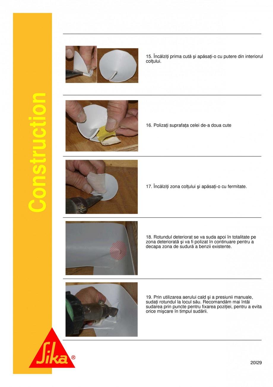 Pagina 20 - Sistem de etansare a rosturilor si reparare a fisurilor - Sikadur-Combiflex SG SIKA...
