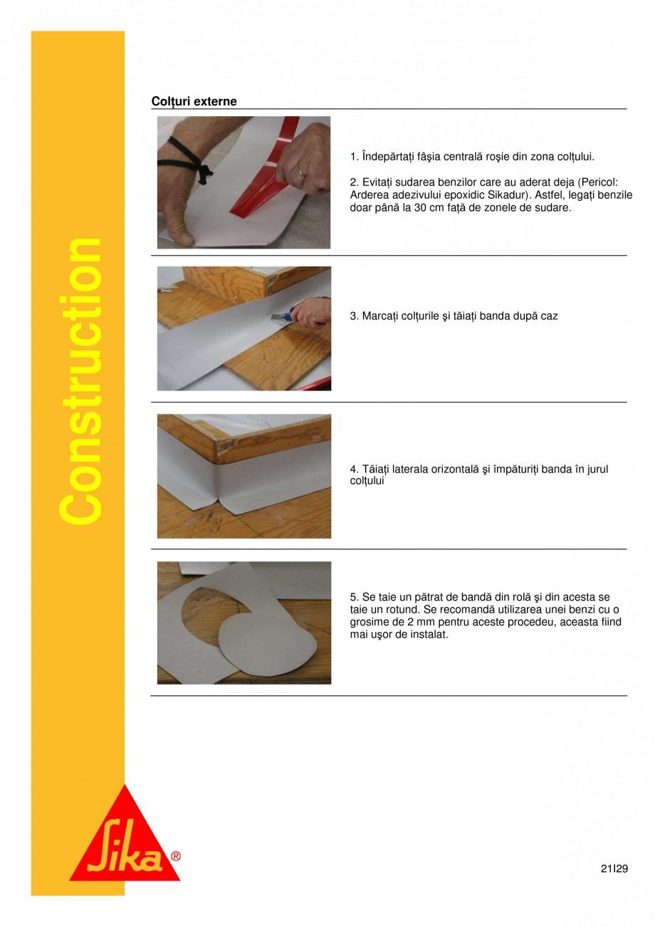 Pagina 21 - Sistem de etansare a rosturilor si reparare a fisurilor - Sikadur-Combiflex SG SIKA...
