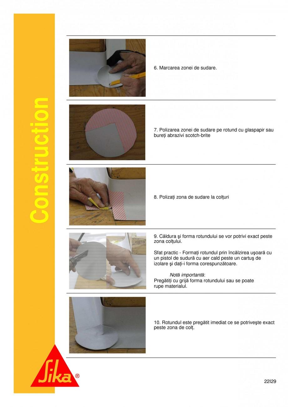Pagina 22 - Sistem de etansare a rosturilor si reparare a fisurilor - Sikadur-Combiflex SG SIKA...