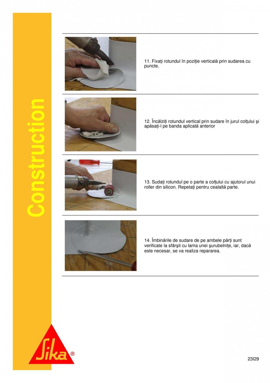 Pagina 23 - Sistem de etansare a rosturilor si reparare a fisurilor - Sikadur-Combiflex SG SIKA...