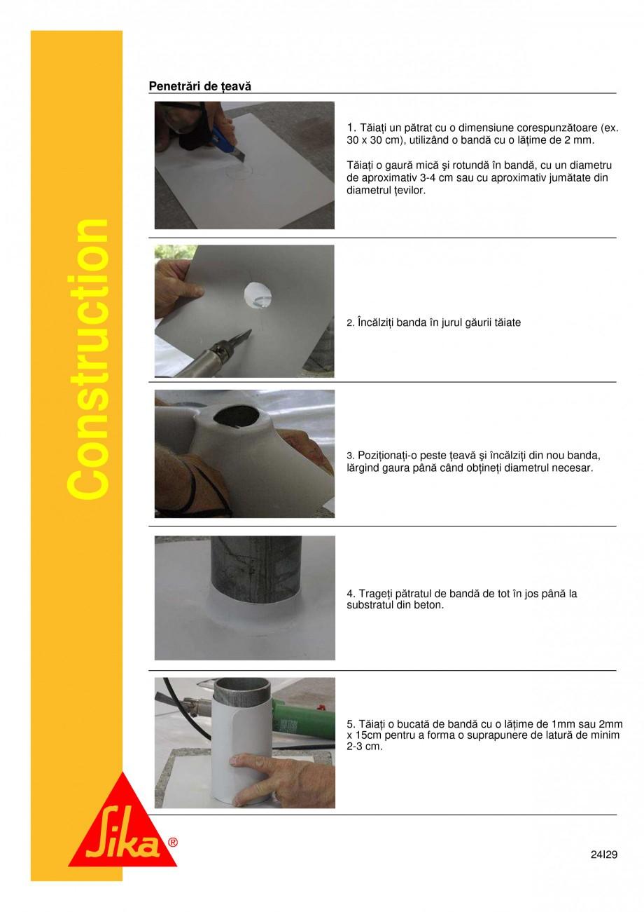 Pagina 24 - Sistem de etansare a rosturilor si reparare a fisurilor - Sikadur-Combiflex SG SIKA...