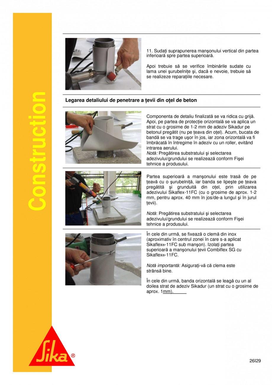 Pagina 26 - Sistem de etansare a rosturilor si reparare a fisurilor - Sikadur-Combiflex SG SIKA...