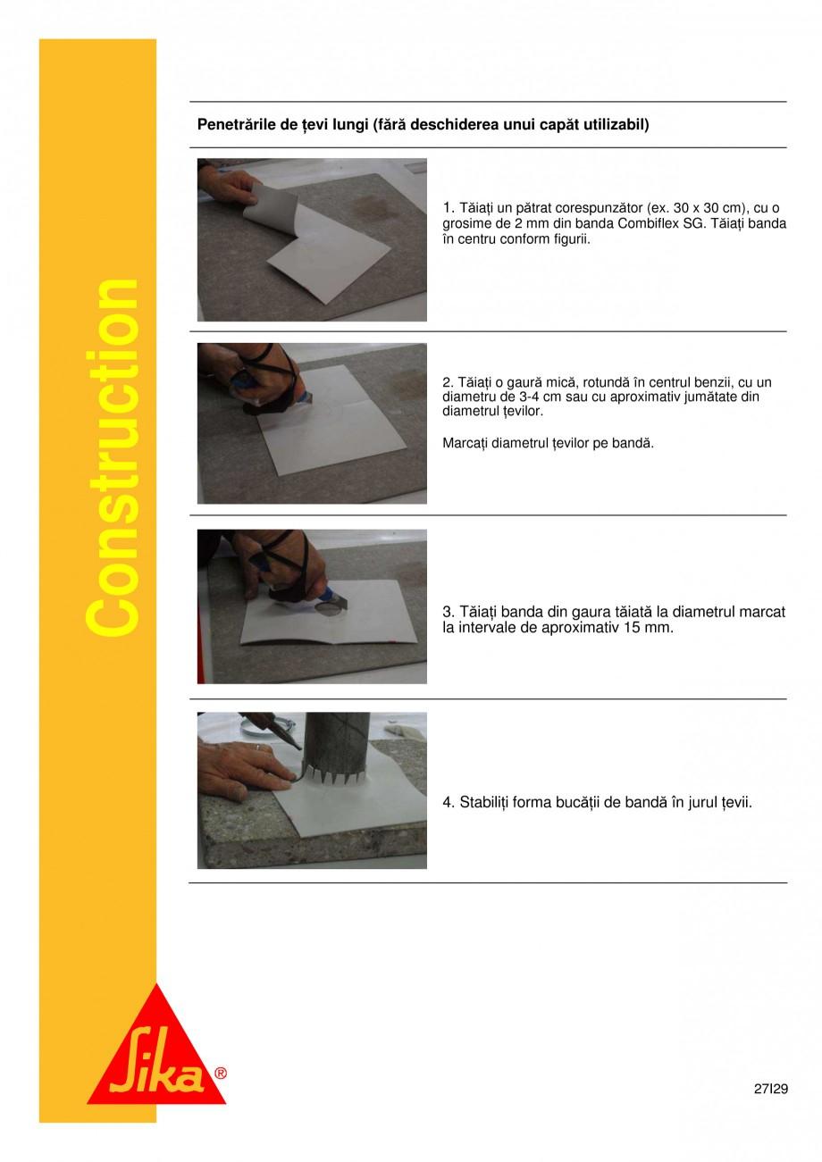 Pagina 27 - Sistem de etansare a rosturilor si reparare a fisurilor - Sikadur-Combiflex SG SIKA...