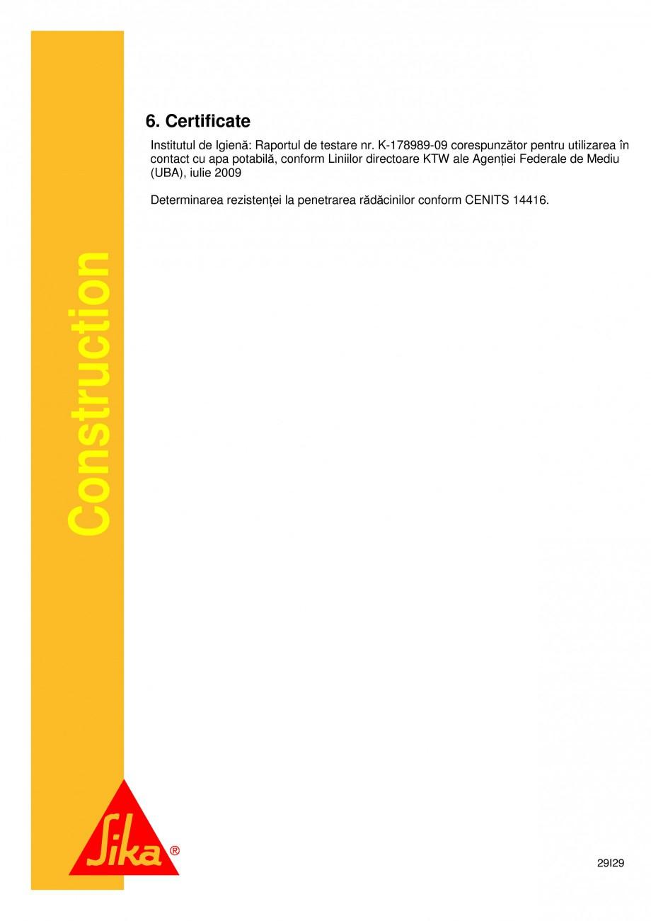 Pagina 29 - Sistem de etansare a rosturilor si reparare a fisurilor - Sikadur-Combiflex SG SIKA...