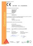 Declaratie de conformitate SIKA - SikaGrout®-311