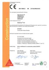 Declaratie de conformitate SIKA