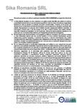 Procedura de aplicare a lamelelor pe zidarie de piatra SIKA - Sika® CarboDur®