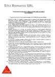 Procedura de aplicare a lamelelor pe beton SIKA - Sika® CarboDur®