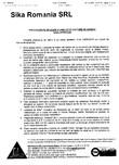 Procedura de aplicare a lamelelor pe zidarie de caramida SIKA - Sika® CarboDur®