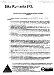 Procedura de aplicare a panzelor pe zidarie de caramida SIKA - SikaWrap®-230C
