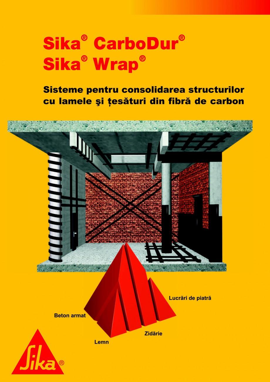 Pagina 1 - Sisteme pentru consolidarea structurilor cu lamele si tesaturi din fibra de carbon SIKA...