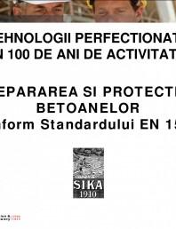 Repararea si protectia betoanelor conform Standardului EN 1504