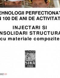 Injectari si consoliodari structurale cu materiale compozite