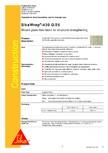 Tesatura din fibra de sticla pentru consolidare SIKA - SikaWrap®-430 G/25