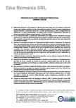 Procedura aplicare a panzelor din fibra de sticla SIKA - SikaWrap®-430 G/25