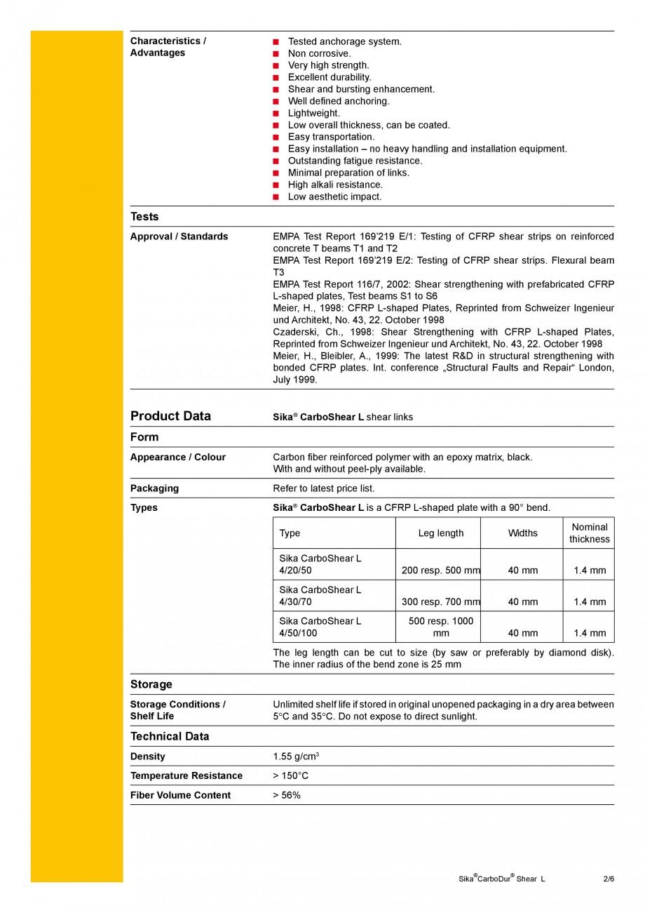 Pagina 2 - Elemente prefabricate din fibra de carbon in forma de ' L' pentru sisteme de...