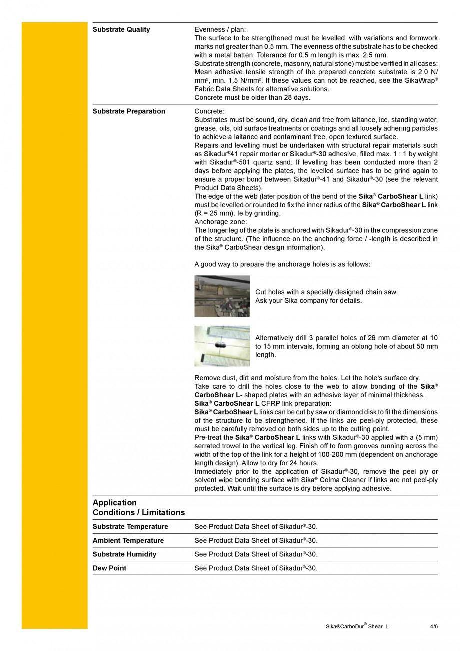 Pagina 4 - Elemente prefabricate din fibra de carbon in forma de ' L' pentru sisteme de...