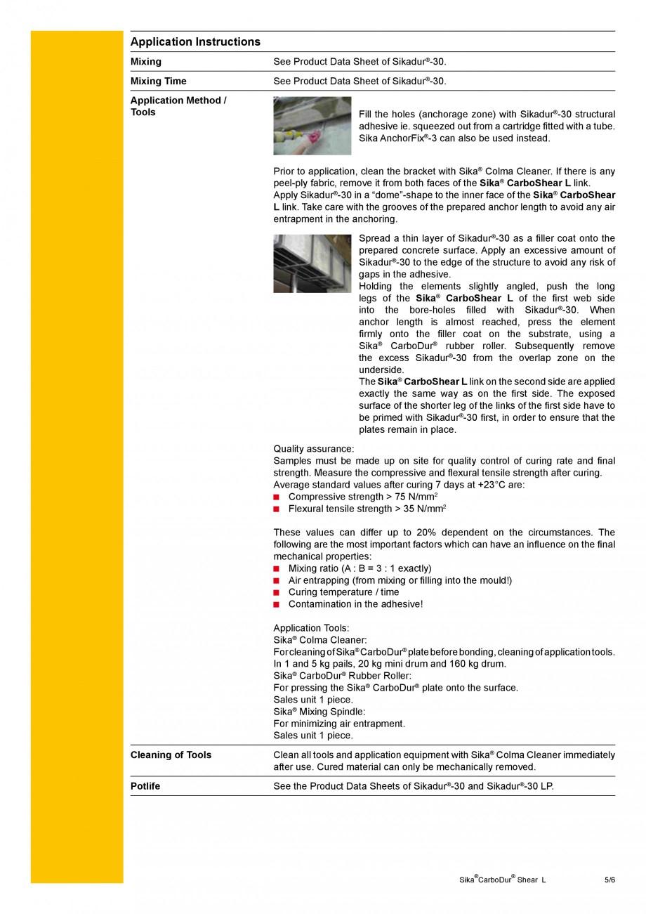 Pagina 5 - Elemente prefabricate din fibra de carbon in forma de ' L' pentru sisteme de...