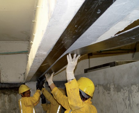 Exemple de utilizare Consolidare pe baza de fibre de carbon Sika® CarboDur® SIKA - Poza 1