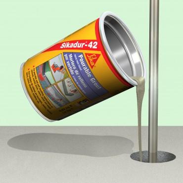 Exemple de utilizare Material pentru subturnari si fixari SIKA - Poza 1