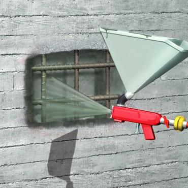 Exemple de utilizare Mortar de reparatii si reprofilari  SIKA - Poza 2