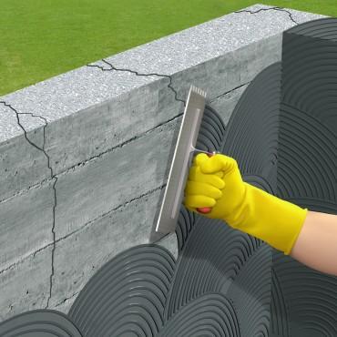 Exemple de utilizare Mortar semi-elastic pentru impermeabilizare si protectie SIKA - Poza 5