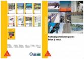 Protectii profesionale pentru beton si metal SIKA