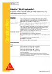 Acoperire multifunctionala direct pe metal SIKA - SikaCor®-6630