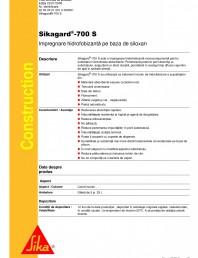 Impregnare hidrofobizanta pe baza de siloxan