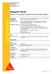 Material de impregnare hidrofobizant pentru fatadele cladirilor SIKA - Sikagard®-703 W