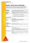 Protectie anticoroziva monocomponenta, pe baza de rasina SIKA - SikaCor® Steel Protect VHS Rapid