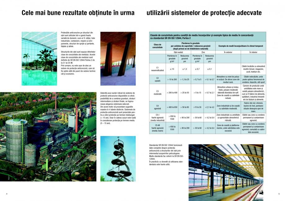 Pagina 3 - Ghid de selectie a Sistemelor de protectie anticoroziva pentru beton si metal SIKA...