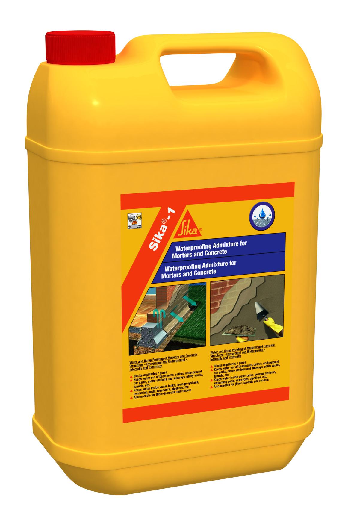 Aditiv de impermeabilizare pentru mortare - Produs si aplicatii SIKA - Poza 1