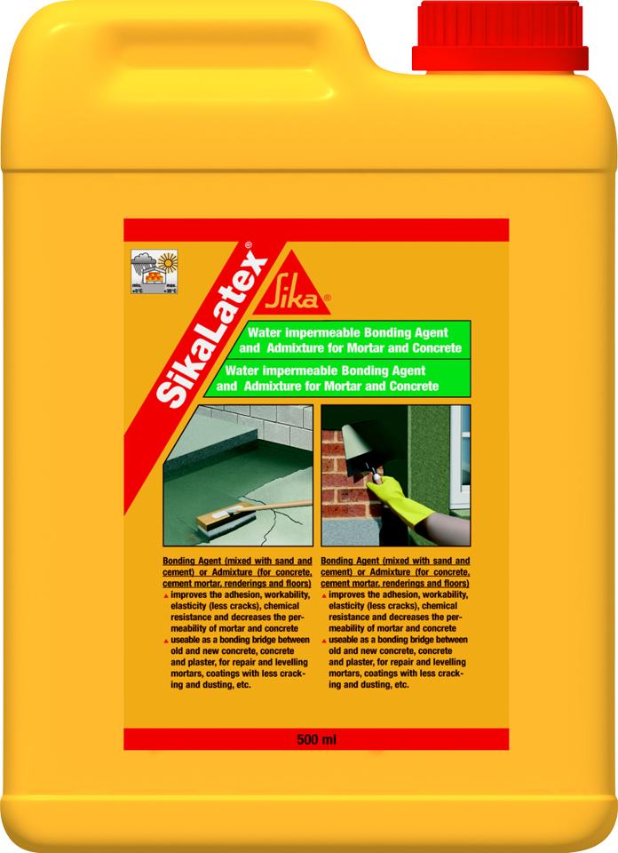 Aditiv lichid pentru mortare si punte de aderenta - Produs si aplicatii SIKA - Poza 1