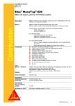Masa de spaclu pentru inchiderea porilor SIKA - Sika® MonoTop®-620