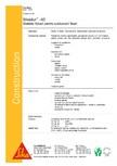 Mortar sintetic pentru subturnari si fixari SIKA - Sikadur®-42