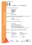 Declaratie de conformitate SIKA - SikaGrout®-318